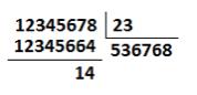 calcular letra dni division